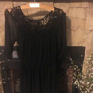 Black Dress with lace—Great deal—get it today!!